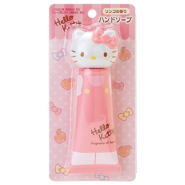 【Curiosity】日本Sanrio Hello Kitty凱蒂貓造型頭蓋透明質酸保濕洗手液-蘋果香$220↘$155