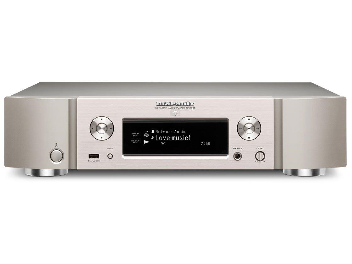 日本原裝 marantz Hi-Res 網路音樂播放機 NA8005