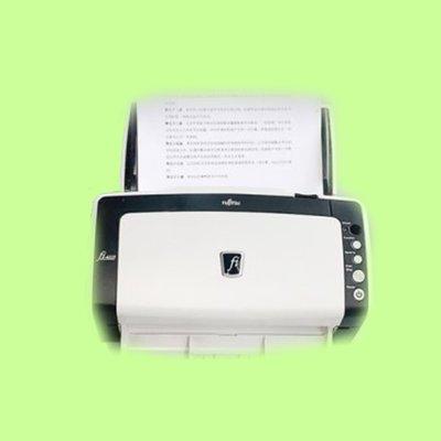 5Cgo【含稅】福利品高速掃描器FI6130 6125饋紙雙面高速連續走紙彩色多種格式文檔書籍574012073234