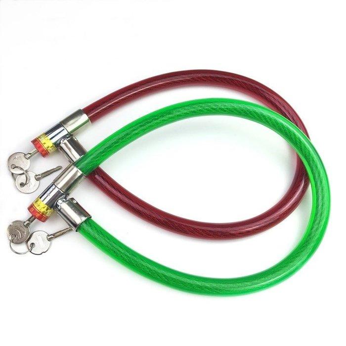 #熱門#自行車鋼絲鎖環型鎖鋼纜鎖軟鎖鋼條鎖老款車鎖防盜鎖門鎖鏈條鎖