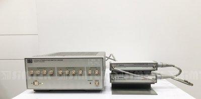 Agilent/hp 11713A 切換器驅動程式+ 8496H 可程控步進衰減器+ 8494H 可程控步進衰減器