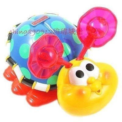 ♪♫瑋瑋城堡✲玩具出租♪♫ (二手出售)Fisher Price 費雪 爬行小蟲蟲(A)