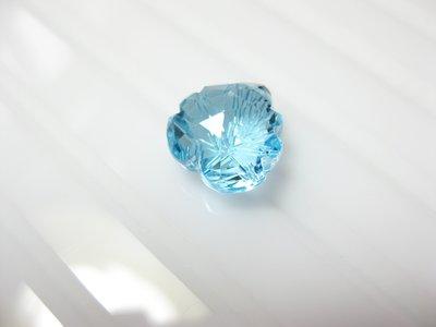 【Texture & Nobleness 低調與奢華】天然寶石 瑞士藍托帕石 6.7克拉