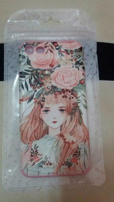 花語女孩iphone7手機殼浮雕圖片