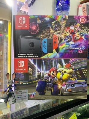 (全新現貨) 🔺香港原裝行貨🔻Nintendo Switch 👨瑪莉歐賽車8豪華版組合 (1年原廠保養🉐內附實體Mario Kart8遊戲帶)