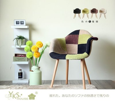 椅-Eddie。艾迪名品風造型椅(五色可選)【YKS】YKSHOUSE 專 非