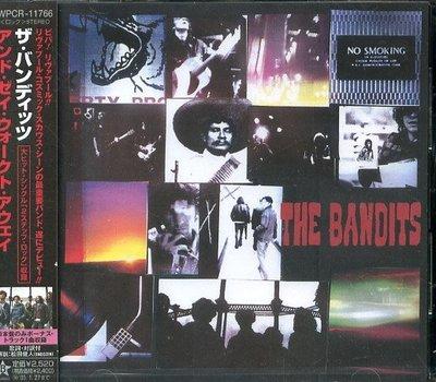 K - THE BANDITS - AND THEY WALKED AWAY - 日版 +1BONUS - NEW
