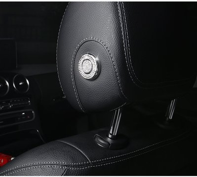 BENZ W205 S205 C 枕頭 頭枕 裝飾 水鑽 C200 C250 C300 C43 C63 AMG 按鍵