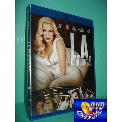 A區Blu-ray藍光正版【鐵面特警隊L.A. Confidential (1997)】[含中文字幕]全新未拆