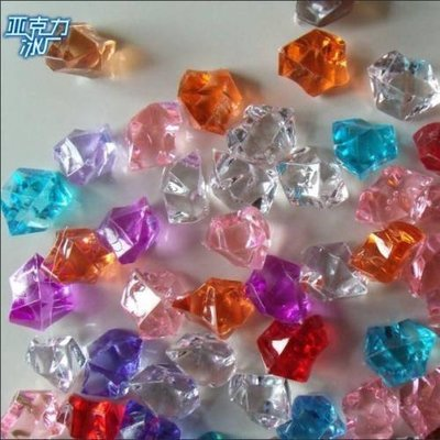 [MOLD-S_007]水晶石彩色石頭五彩石人造仿真大假冰塊