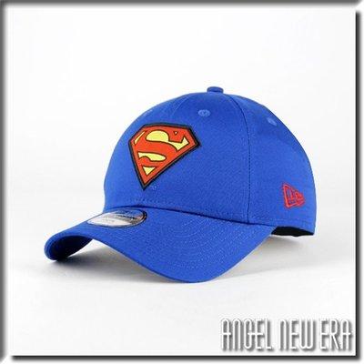 【ANGEL NEW ERA 】童帽 DC 超人 活力藍 卡通 動漫 老帽 英雄系列 9FORTY 穿搭 限量 小頭圍