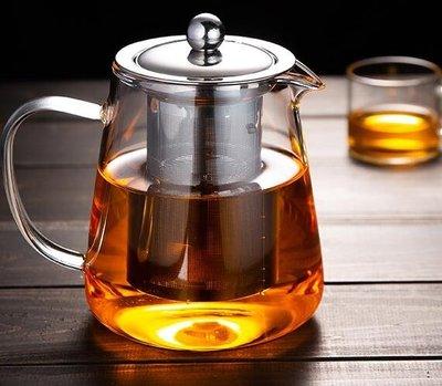 茶壺 泡茶壺玻璃茶具家用茶水壺耐高溫加厚分離過濾電陶爐煮茶壺器❣卡爾旗艦店