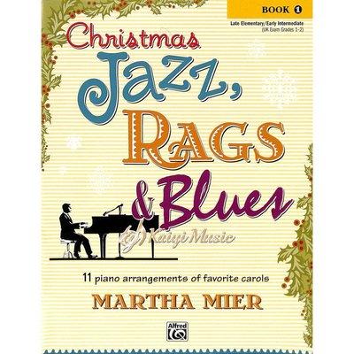 Kaiyi Music 【Kaiyi Music】爵士、散拍與藍調的聖誕節曲目Christmas jazz,rags&blues book 1
