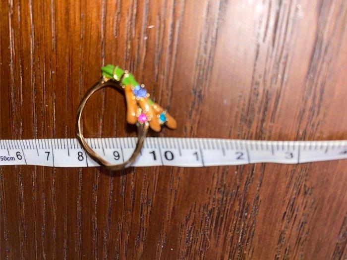 國外帶回設計款超細手戒指1.7