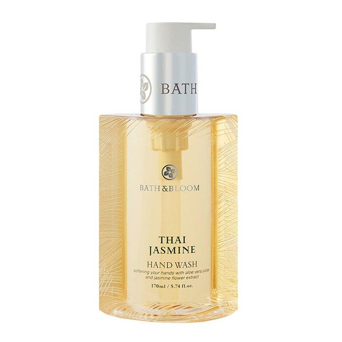 新入荷! 全新包裝【Bath Bloom】泰國茉莉香氛洗手乳 170ml~潔淨易沖洗~保濕護手