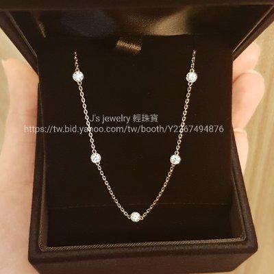 日本訂製18k金鑽石手鍊 珠邊 四葉草鏤空雕花手鏈 tiffany agete 輕珠寶風格