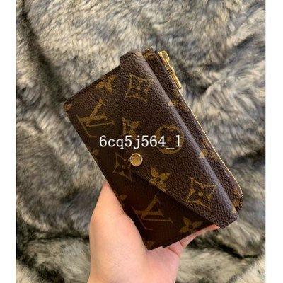 LV 路易威登 M69431 老花 黑色壓紋 20年新款 RECTO VERSO 卡片套 多功能零錢包