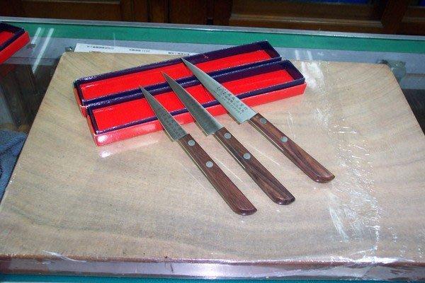 @@最專業的刀剪 台中市最知名的建成刀剪行@@特銀 三合鋼- 蔬果.雕刻刀105m/m