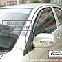 比德堡崁入式晴雨窗 豐田TOYOTA  Vios 2003-2013年專用 (前窗兩片價)