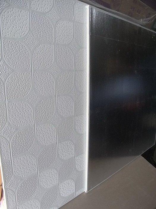 新款 8mm 貼皮石膏天花板 雲翼 貴竹 背面鋁箔 輕鋼架天花板 明架 DIY 輕隔間 天蓬 隔音 隔熱 防火 抗UV