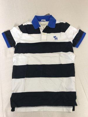 Abercrombie and Fitch A&F 男生棉質polo衫 M號 全新正品 美國帶回  重磅厚棉款 AF絕版材質