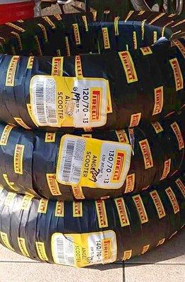 單條完工價【油品味】PIRELLI 天使胎 120/70-13 130/70-13 140/70-13 倍耐力輪胎