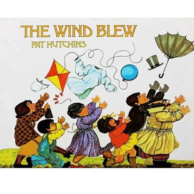 The Wind Blew風吹起來幼兒英語繪本 兒童英文啟蒙早教睡前故事媽媽寶寶親子共讀 圖畫書圖冊外語學習 好再來O
