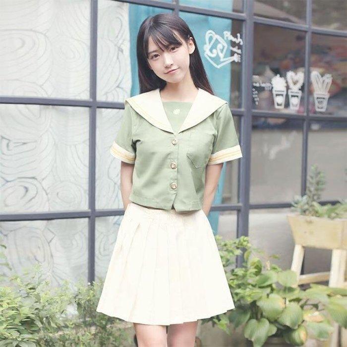 日韓校服學院休閒淑女可愛正統班服學生裝JK制服水手服套裝