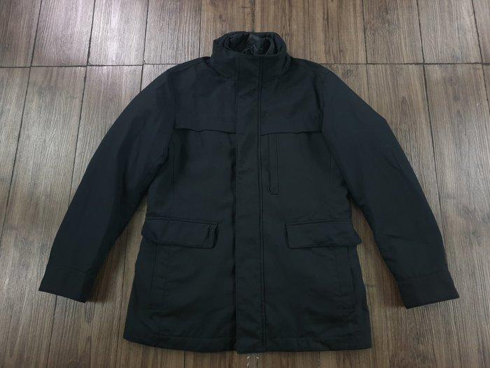 UNIQLO 黑色 防潑水 兩件可拆式 羽絨外套 (S)  (一元起標 無底價)