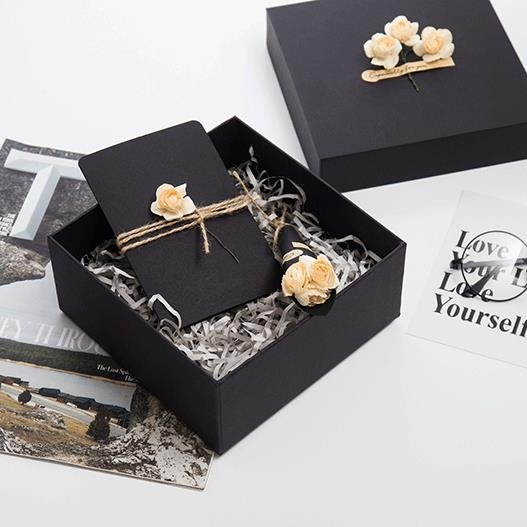 〖免運〗正方形禮物盒韓版禮物盒文藝小清新簡約  『比比熊』