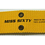 MISS SIXTY 黃色腰帶 tag保留 MADE IN ITALY