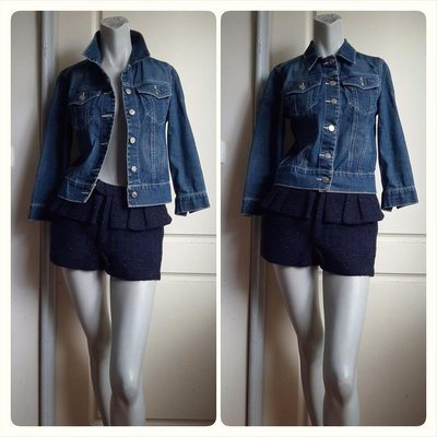 【叵甜】Ralph Lauren Polo Jeans Co藍色丹寧牛仔外套-XS