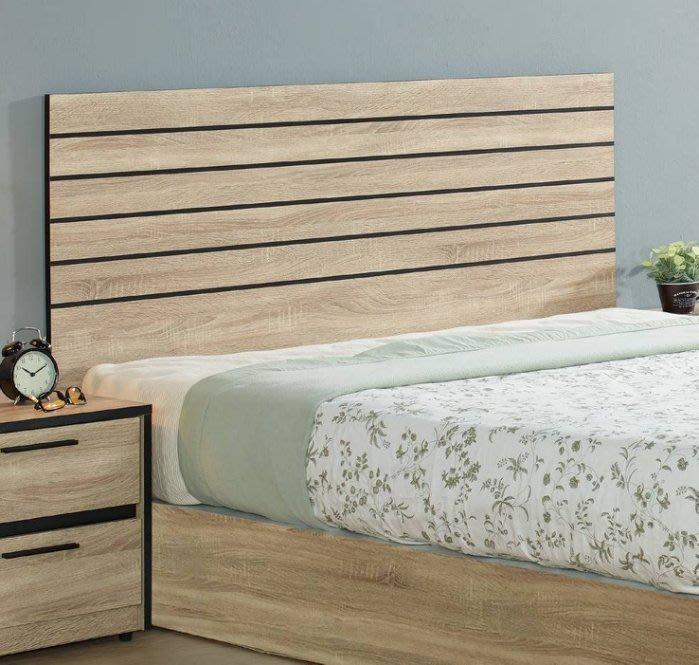 【DH】商品貨號N047-2商品名稱《治喬》5尺梧桐木心板床片(圖一)台灣製.可訂做.新品特價