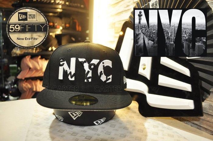 New Era Branded New York City USA Flag 59Fifty 紐約市美國國旗NYC全封帽