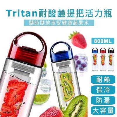 貝比幸福小舖【91099-21】Tritan耐酸鹼材質健康蔬果提把大容量活力瓶/隨身瓶