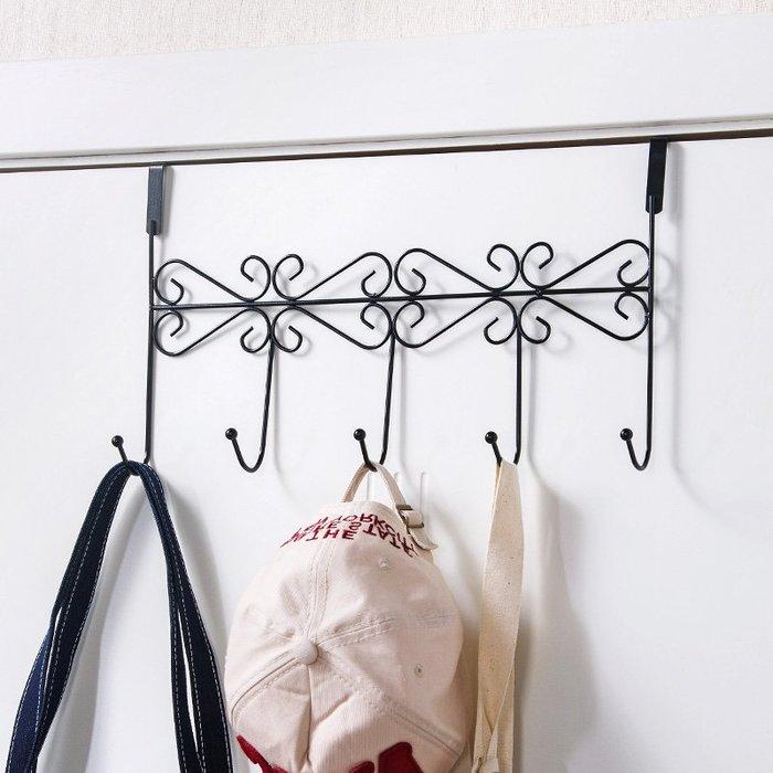 收納盒 整理箱居家家無痕免釘門后掛鉤置物架掛衣鉤創意浴室廚房鉤子衣服掛衣架
