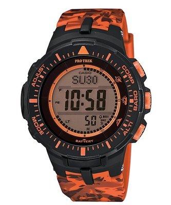 【EASYwatches】CASIO 卡西歐 PRO TREK PRG-300系列 PRG-300CM-4 登山錶 迷彩