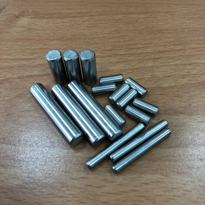 AHH090 M3M4M5M6mm304不銹鋼圓柱銷釘定位銷子8-10-12-15-16-20-25-30 不鏽鋼定位1