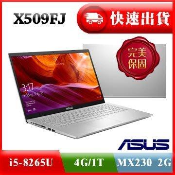好好筆電 華碩 ASUS X509FJ 0131S8265U 冰河銀