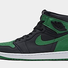 "沃皮斯§Air Jordan 1 Retro High OG ""Pine Green"" 黑綠 555088-030"