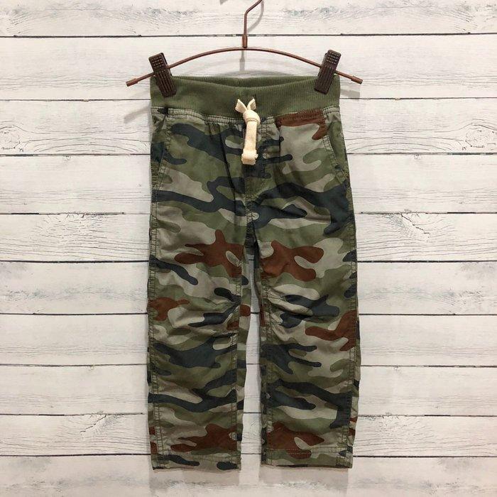 Maple麋鹿小舖 美國購買童裝品牌 carter's 男童迷彩圖樣長褲 * ( 現貨3T )