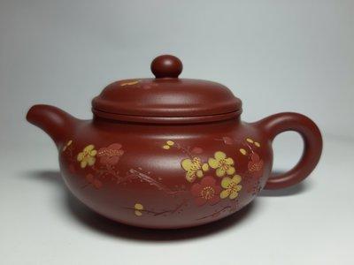 紫砂壺~梅香仿古/原礦大紅袍