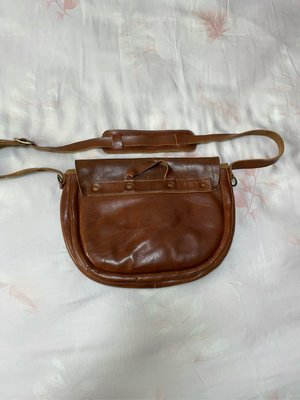 Sturdy Luggage Supply 櫪木多脂皮革、日本製、二手側背包,y'2 leather double helix tenjin works 可參考