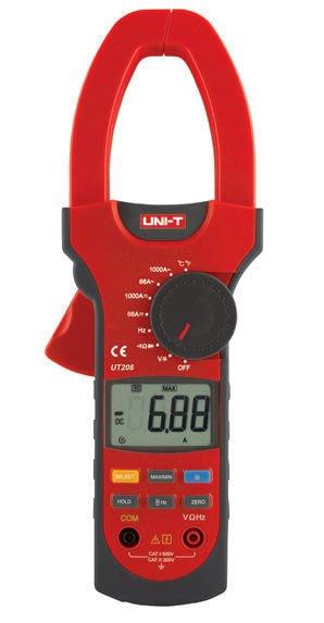 TECPEL 泰菱 》UNI-T 優利德 UT208 交直流鉤表 鉤錶 鈎表 勾表 電表 UT-208 交直流