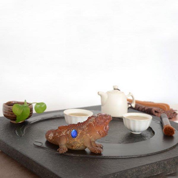 5Cgo【茗道】含稅會員有優惠 43868037451 茶寵擺件招財進寶變色茶寵精品擺件樹脂麒麟茶擺茶玩茶盤擺飾茶趣茶道