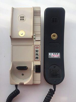 俞氏牌 LT-390D 總機式對講室內機 大樓公寓電鎖對講機 二手良品
