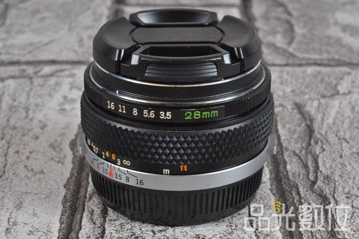【品光數位】Olympus OM-SYSTEM AUTO-W 28mm F3.5 FOR 43口 #79037