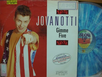 [阿慜歌的音樂小舖]二手LP{Jovanotti}---Gimme Five//Go Jovanotti Go/彩色膠片