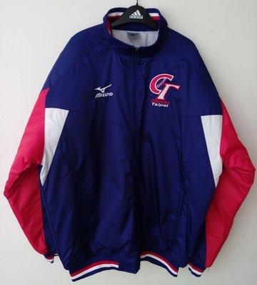 MIZUNO CT美津濃中華隊球員版防風防潑水棒球外套(12TE5G3516F)特價2680元~WBC經典賽12強棒球賽