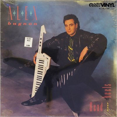 [黑膠唱片同好會] Alex Bugnon《Head Over Heel》黑膠唱片 / 黑膠再生市集 二手唱片